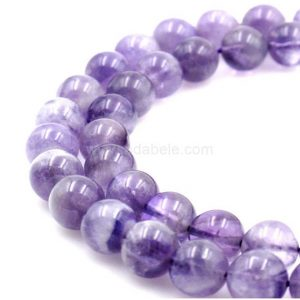 Shop Amethyst Beads! U Pick Natural Purple Amethyst Gemstone 4mm 6mm 8mm 10mm Loose Round Gems Stone Beads 15 inch Per Strand for Jewelry Craft Making GY31 | Natural genuine beads Amethyst beads for beading and jewelry making.  #jewelry #beads #beadedjewelry #diyjewelry #jewelrymaking #beadstore #beading #affiliate #ad