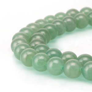 "Shop Aventurine Beads! Green Aventurine Smooth Round Beads 4mm 6mm 8mm 10mm 12mm 15.5"" Strand 
