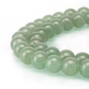 Shop Aventurine Beads! U Pick Top Quality Natural Green Aventurine Gemstone 4mm 6mm 8mm 10mm Round Gems Stone Beads 15 inch Per Strand for Jewelry Craft Making GY5 | Natural genuine beads Aventurine beads for beading and jewelry making.  #jewelry #beads #beadedjewelry #diyjewelry #jewelrymaking #beadstore #beading #affiliate #ad