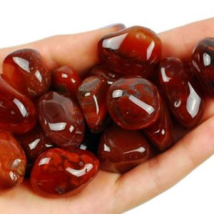 One 1 Dark Carnelian Tumbled Stone, Healing Crystals, Healing Carnelian Stones, Carnelian Mineral, Dark Carnelian Gemstone, LadiesCrystals | Natural genuine stones & crystals in various shapes & sizes. Buy raw cut, tumbled, or polished gemstones for making jewelry or crystal healing energy vibration raising reiki stones. #crystals #gemstones #crystalhealing #crystalsandgemstones #energyhealing #affiliate #ad