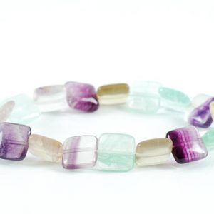 Shop Fluorite Bracelets! Rainbow Fluorite Bracelet, Green fluorite Bracelets, Fluorite Bracelets, Fluorite Bead Bracelet, Fluorite Crystals, Gift, Healing Bracelet | Natural genuine Fluorite bracelets. Buy crystal jewelry, handmade handcrafted artisan jewelry for women.  Unique handmade gift ideas. #jewelry #beadedbracelets #beadedjewelry #gift #shopping #handmadejewelry #fashion #style #product #bracelets #affiliate #ad