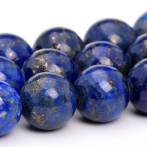 "Shop Lapis Lazuli Round Beads! 12-13×3-8MM Deep Blue Lapis Lazuli Bead Afghanistan A Genuine Natural Gemstone Half Strand Rondelle Beads 7"" Bulk Lot Options (108729h-2766) 