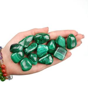 Shop Tumbled Malachite Crystals & Pocket Stones! Large Malachite Tumbled Stone, Malachite Tumbled Stones, Healing Malachite Crystals, Malachite Healing Stones, LadiesCrystals, Ladies | Natural genuine stones & crystals in various shapes & sizes. Buy raw cut, tumbled, or polished gemstones for making jewelry or crystal healing energy vibration raising reiki stones. #crystals #gemstones #crystalhealing #crystalsandgemstones #energyhealing #affiliate #ad