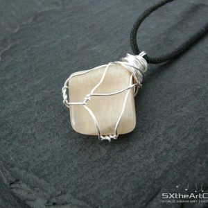 Shop Moonstone Necklaces! Moonstone Pendant, Yoga Amulet Necklace, June Birthstone, Cancer Zodiac, Good Fortune Gemstone, Gift For Him, Her, Women Stone, Men Jewelry | Natural genuine Moonstone necklaces. Buy crystal jewelry, handmade handcrafted artisan jewelry for women.  Unique handmade gift ideas. #jewelry #beadednecklaces #beadedjewelry #gift #shopping #handmadejewelry #fashion #style #product #necklaces #affiliate #ad