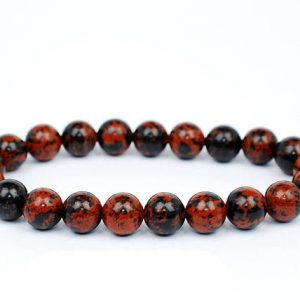 Shop Obsidian Bracelets! 8mm Mahogany Obsidian Bracelet, Mahogany Obsidian Bracelets 8 Mm, Mahogany Obsidian Bracelets, Mahogany Obsidian Bracelet, Ladiescrystals | Natural genuine Obsidian bracelets. Buy crystal jewelry, handmade handcrafted artisan jewelry for women.  Unique handmade gift ideas. #jewelry #beadedbracelets #beadedjewelry #gift #shopping #handmadejewelry #fashion #style #product #bracelets #affiliate #ad