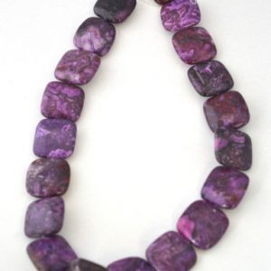 Shop Charoite Beads! Purple Charoite Stone agate Beads, Sold by 1 strand of 18pcs, 20x20mm, 1.5mm hole opening | Natural genuine beads Charoite beads for beading and jewelry making.  #jewelry #beads #beadedjewelry #diyjewelry #jewelrymaking #beadstore #beading #affiliate #ad