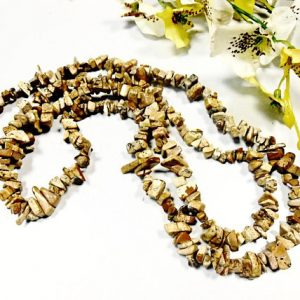 Shop Picture Jasper Chip & Nugget Beads! Raw Picture jasper Chips Beads Cut Rough Gemstone Pebble Natural Mineral Gem 5-8 mm 36 inch Strand Nugget Tumbled Irregular Stone Crystal | Natural genuine chip Picture Jasper beads for beading and jewelry making.  #jewelry #beads #beadedjewelry #diyjewelry #jewelrymaking #beadstore #beading #affiliate #ad