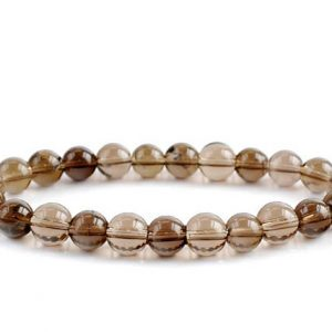 Shop Smoky Quartz Bracelets! Smokey Quartz Bracelet, Smoky Quartz Bracelets 8mm, Healing Stretch Quartz Bead Bracelet, Smokey Quartz Healing, Smoky Quartz bead bracelet | Natural genuine gemstone jewelry in modern, chic, boho, elegant styles. Buy crystal handmade handcrafted artisan art jewelry & accessories. #jewelry #beaded #beadedjewelry #product #gifts #shopping #style #fashion #product