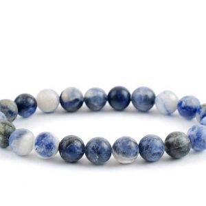 Shop Sodalite Bracelets! Sodalite Bracelet, Sodalite Bracelets 8 mm, Sodalite Stretch Bracelets, Sodalite Bead Bracelet, Sodalite Healing | Natural genuine Sodalite bracelets. Buy crystal jewelry, handmade handcrafted artisan jewelry for women.  Unique handmade gift ideas. #jewelry #beadedbracelets #beadedjewelry #gift #shopping #handmadejewelry #fashion #style #product #bracelets #affiliate #ad
