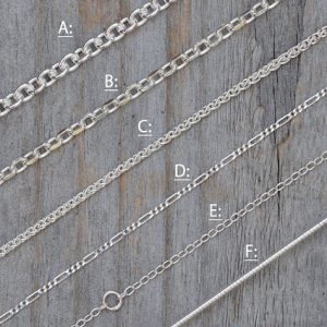Shop Chain for Jewelry Making! Solid Sterling Silver Chain, Omega Chain, Cable Chain,  Spiga Chain, Figaro Chain, Diamond Cut Belcher Chain, Special Trace Chain | Shop jewelry making and beading supplies, tools & findings for DIY jewelry making and crafts. #jewelrymaking #diyjewelry #jewelrycrafts #jewelrysupplies #beading #affiliate #ad