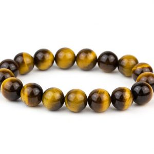 Shop Tiger Eye Bracelets! Men's Tiger Eye Bracelet/ Yellow Tiger Eye Bracelet/ 12mm Tiger Eye Bracelet/ Tiger Eye Jewelry/ Men's Bead Bracelet | Natural genuine Tiger Eye bracelets. Buy crystal jewelry, handmade handcrafted artisan jewelry for women.  Unique handmade gift ideas. #jewelry #beadedbracelets #beadedjewelry #gift #shopping #handmadejewelry #fashion #style #product #bracelets #affiliate #ad