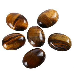 Shop Tiger Eye Cabochons! 2pcs Aaa Natural Tiger Eye Stone Oval Cabochon Flatback Semi-precious Gemstone Cabochons 18x13mm #go1-b | Natural genuine gemstones & crystals in various shapes & sizes. Buy raw cut, tumbled, or polished for making jewelry or crystal healing energy reiki stones. #crystals #gemstones #crystalhealing #crystalsandgemstones #energyhealing #affiliate