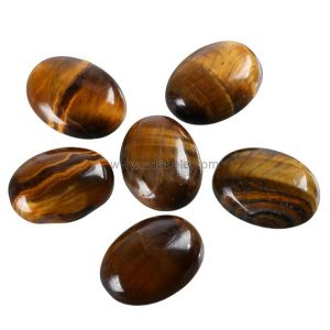 Shop Tiger Eye Cabochons! 2pcs Aaa Natural Tiger Eye Oval Cabochon Flatback Gemstone Cabochons 25x18mm #gp19 | Natural genuine gemstones & crystals in various shapes & sizes. Buy raw cut, tumbled, or polished for making jewelry or crystal healing energy reiki stones. #crystals #gemstones #crystalhealing #crystalsandgemstones #energyhealing #affiliate
