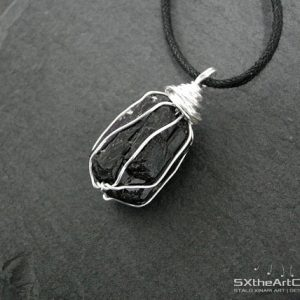 Shop Black Tourmaline Necklaces! Black Tourmaline Pendant, Unisex Amulet Necklace, Electromagnetic Field Emf Protection Stone, Schorl Jewellery, Gift For Him, Men Jewelry | Natural genuine Black Tourmaline necklaces. Buy crystal jewelry, handmade handcrafted artisan jewelry for women.  Unique handmade gift ideas. #jewelry #beadednecklaces #beadedjewelry #gift #shopping #handmadejewelry #fashion #style #product #necklaces #affiliate #ad