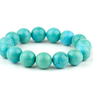 Shop Turquoise Bracelets! Green Turquoise Bracelet/ Turquoise Bead Bracelet/ Teal Gemstone Bracelet/ Turquoise Statement Jewelry | Natural genuine Turquoise bracelets. Buy crystal jewelry, handmade handcrafted artisan jewelry for women.  Unique handmade gift ideas. #jewelry #beadedbracelets #beadedjewelry #gift #shopping #handmadejewelry #fashion #style #product #bracelets #affiliate #ad