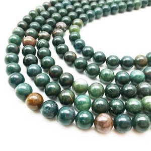 Shop Bloodstone Beads! 1 Full Strand Bloodstone Beads ,8mm 10mm Round Beads , Gemstone Beads | Natural genuine round Bloodstone beads for beading and jewelry making.  #jewelry #beads #beadedjewelry #diyjewelry #jewelrymaking #beadstore #beading #affiliate #ad