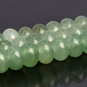 Shop Aventurine Rondelle Beads! Parsley Bunch Aventurine Beads Grade AAA Genuine Natural Gemstone Rondelle Loose Beads 6x4MM 8x5MM Bulk Lot Options | Natural genuine rondelle Aventurine beads for beading and jewelry making.  #jewelry #beads #beadedjewelry #diyjewelry #jewelrymaking #beadstore #beading #affiliate #ad
