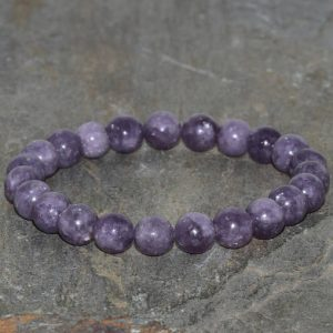 8mm Lepidolite Bracelet, Aaa Grade, Rare Gemstone Bracelet, Beaded Bracelet, Lepidolite Lavender Jewelry, gemstone Jewelry, lepidolite Jewelry | Natural genuine Gemstone bracelets. Buy crystal jewelry, handmade handcrafted artisan jewelry for women.  Unique handmade gift ideas. #jewelry #beadedbracelets #beadedjewelry #gift #shopping #handmadejewelry #fashion #style #product #bracelets #affiliate #ad