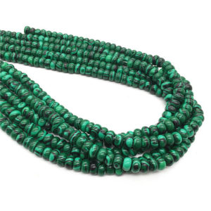 Shop Malachite Rondelle Beads! 8x5mm Malachite Rondelle Beads , 15.5 Inch Strand,Approx 78Beads | Natural genuine rondelle Malachite beads for beading and jewelry making.  #jewelry #beads #beadedjewelry #diyjewelry #jewelrymaking #beadstore #beading #affiliate