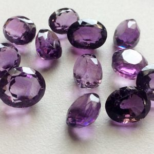 Shop Amethyst Cabochons! 4 Pcs Amethyst Cabochon Lot, Oval Faceted Calibrated Amethyst, 10x12mm – 12x16mm, Amethyst Jewelry – PGP1006 | Natural genuine gemstones & crystals in various shapes & sizes. Buy raw cut, tumbled, or polished for making jewelry or crystal healing energy reiki stones. #crystals #gemstones #crystalhealing #crystalsandgemstones #energyhealing #affiliate