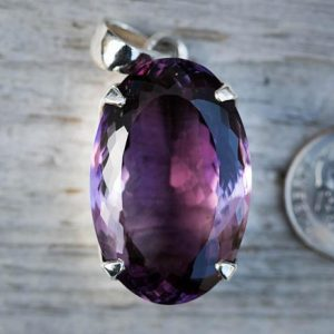 Shop Amethyst Pendants! Amethyst Pendant – Amethyst Necklace – February Birthstone Pendant – Amethyst Necklace – Genuine Amethyst – Natural Amethyst Pendant Purple | Natural genuine Amethyst pendants. Buy crystal jewelry, handmade handcrafted artisan jewelry for women.  Unique handmade gift ideas. #jewelry #beadedpendants #beadedjewelry #gift #shopping #handmadejewelry #fashion #style #product #pendants #affiliate #ad
