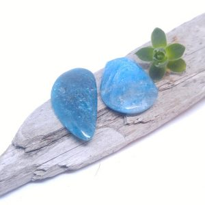 Shop Apatite Cabochons! Apatite cabochons, Apatite Wing, Blue Apatite, Apatite, Natural blue stone, Blue crystals, Crystals, Stone cabochons, Loose Cabochons, | Natural genuine gemstones & crystals in various shapes & sizes. Buy raw cut, tumbled, or polished for making jewelry or crystal healing energy reiki stones. #crystals #gemstones #crystalhealing #crystalsandgemstones #energyhealing #affiliate