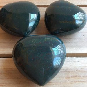 Shop Bloodstone Shapes! Bloodstone Gemstone Heart 45 mm, Gives Courage, Calms the Mind, Powerful Healing, Healing Stone, Spiritual Stone, Gemstone | Natural genuine stones & crystals in various shapes & sizes. Buy raw cut, tumbled, or polished gemstones for making jewelry or crystal healing energy vibration raising reiki stones. #crystals #gemstones #crystalhealing #crystalsandgemstones #energyhealing #affiliate #ad