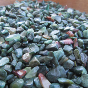 Mini Bloodstone Chip Tumbled Stone Small Bag T115 | Natural genuine stones & crystals in various shapes & sizes. Buy raw cut, tumbled, or polished gemstones for making jewelry or crystal healing energy vibration raising reiki stones. #crystals #gemstones #crystalhealing #crystalsandgemstones #energyhealing #affiliate #ad