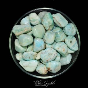 Teal Blue CALCITE Tumbled Stone Healing Crystal & Stone for Study, Meditation #TC01 | Natural genuine stones & crystals in various shapes & sizes. Buy raw cut, tumbled, or polished gemstones for making jewelry or crystal healing energy vibration raising reiki stones. #crystals #gemstones #crystalhealing #crystalsandgemstones #energyhealing #affiliate #ad