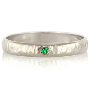 Shop Men's Gemstone Rings! Emerald Wedding Band 14k Palladium White Gold Hammered Ring – 3mm Wide Unisex Ring Mens Ring Womans Ring – May Birthstone Ring Wedding Ring | Natural genuine Agate rings, simple unique alternative gemstone engagement rings. #rings #jewelry #bridal #wedding #jewelryaccessories #engagementrings #weddingideas #affiliate #ad
