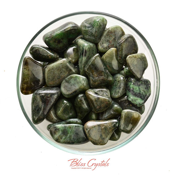 1 Grossularite Tumbled Stone Aka Green Garnet Healing Crystal And Stone For Relaxation #gl01