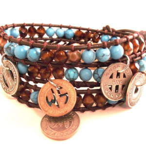 Gypsy Leather Wrap Bracelet Project
