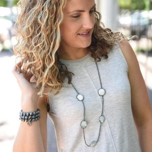 Shop Hematite Necklaces! Hematite Necklace – 36"