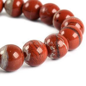 "Shop Red Jasper Beads! You Pick Top Quality Natural Red River Jasper Gemstone 4mm 6mm 8mm 10mm Round Loose Beads 15.5"" #GF15 