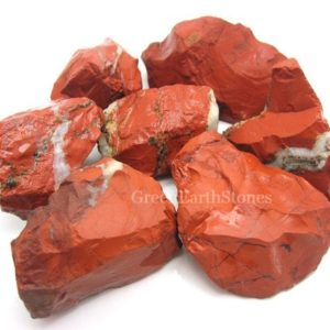 Red Jasper One XL Chunk | Natural genuine stones & crystals in various shapes & sizes. Buy raw cut, tumbled, or polished gemstones for making jewelry or crystal healing energy vibration raising reiki stones. #crystals #gemstones #crystalhealing #crystalsandgemstones #energyhealing #affiliate #ad