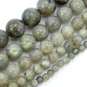 "Shop Labradorite Round Beads! You Pick AAA Natural Labradorite Gemstone 4mm 6mm 8mm 10mm Loose Round Beads Spacer Beads 15.5"" (1 strand) #GY11 