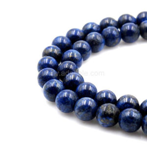 Shop Lapis Lazuli Round Beads! U Pick Natural Grade A Blue Lapis Lazuli Gemstone 4mm 6mm 8mm Loose Round Gems Stone Beads 15 Inch Per Strand For Jewelry Craft Making Gy20 | Natural genuine round Lapis Lazuli beads for beading and jewelry making.  #jewelry #beads #beadedjewelry #diyjewelry #jewelrymaking #beadstore #beading #affiliate #ad