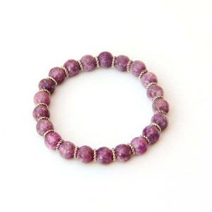 Shop Lepidolite Bracelets! lepidolite bracelet, pink bracelet, pink lepidolite, gemstone beads, healing bracelet, beaded bracelet, gemstone bracelet, boho bracelet | Natural genuine gemstone jewelry in modern, chic, boho, elegant styles. Buy crystal handmade handcrafted artisan art jewelry & accessories. #jewelry #beaded #beadedjewelry #product #gifts #shopping #style #fashion #product