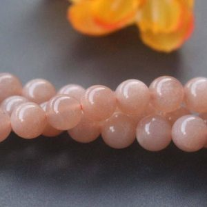 "Natural AAA Genuine Sunstone Round Beads,8mm 10mm 12mm Sunstone Beads,Sunstone beads supply.15"" strand 