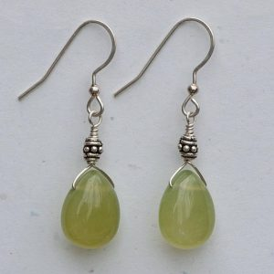 Shop Serpentine Jewelry! Olive Serpentine Earrings | Natural genuine Serpentine jewelry. Buy crystal jewelry, handmade handcrafted artisan jewelry for women.  Unique handmade gift ideas. #jewelry #beadedjewelry #beadedjewelry #gift #shopping #handmadejewelry #fashion #style #product #jewelry #affiliate #ad