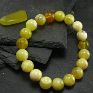 Shop Opal Bracelets! Yellow Opal Genuine Bracelet ~ 7 Inches  ~ 10mm Round Beads | Natural genuine Opal bracelets. Buy crystal jewelry, handmade handcrafted artisan jewelry for women.  Unique handmade gift ideas. #jewelry #beadedbracelets #beadedjewelry #gift #shopping #handmadejewelry #fashion #style #product #bracelets #affiliate #ad