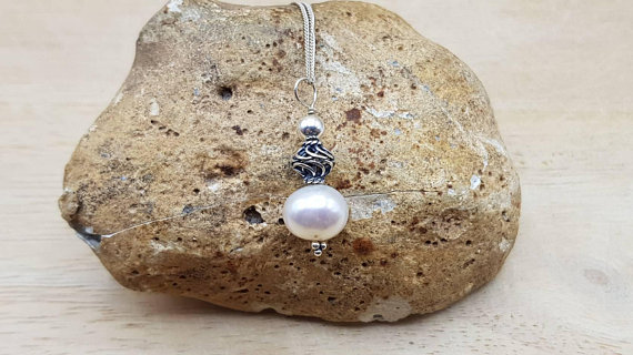 Fresh Water Pearl Pendant Necklace. June Birthstone. Wedding Bali Silver Necklaces For Women. Reiki Jewelry Uk. 30th Anniversary Gemstone.