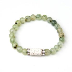 Shop Prehnite Bracelets! Prehnite bracelet for Aromatherapy | Natural genuine Prehnite bracelets. Buy crystal jewelry, handmade handcrafted artisan jewelry for women.  Unique handmade gift ideas. #jewelry #beadedbracelets #beadedjewelry #gift #shopping #handmadejewelry #fashion #style #product #bracelets #affiliate #ad
