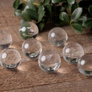 CLEAR QUARTZ Crystal Sphere – Housewarming Gift, Crystal Ball, Home Decor, Raw Stone, Gemstone Sphere E0617 | Natural genuine stones & crystals in various shapes & sizes. Buy raw cut, tumbled, or polished gemstones for making jewelry or crystal healing energy vibration raising reiki stones. #crystals #gemstones #crystalhealing #crystalsandgemstones #energyhealing #affiliate #ad
