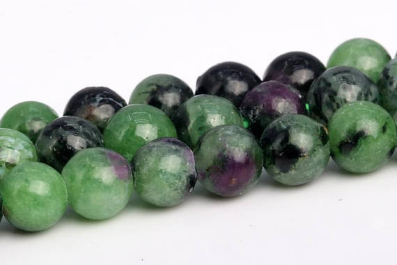 Ruby Zoisite Beads Grade Aa Genuine Natural Gemstone Round Loose Beads 4mm 6mm 8mm 10mm 12mm Bulk Lot Options