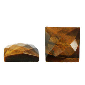 Shop Tiger Eye Cabochons! SALE – Tiger Eye Cabochon – Faceted Cabochon – Square 6x6mm – 8x8mm – 12x12mm – Jewelry Making Supplies – DIY – 1 Cab | Natural genuine gemstones & crystals in various shapes & sizes. Buy raw cut, tumbled, or polished for making jewelry or crystal healing energy reiki stones. #crystals #gemstones #crystalhealing #crystalsandgemstones #energyhealing #affiliate