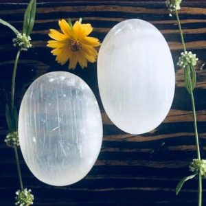 Shop Selenite Shapes! Selenite, Selenite Palm Stone, Spiritual Decor, Palm Stone, 1 Qty.   Natural genuine stones & crystals in various shapes & sizes. Buy raw cut, tumbled, or polished gemstones for making jewelry or crystal healing energy vibration raising reiki stones. #crystals #gemstones #crystalhealing #crystalsandgemstones #energyhealing #affiliate #ad