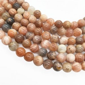 Shop Sunstone Round Beads! Natural Sunstone Round Beads,6mm 8mm 10mm 12mm Gemstone Beads ,Approx 15.5 Inch Strand | Natural genuine round Sunstone beads for beading and jewelry making.  #jewelry #beads #beadedjewelry #diyjewelry #jewelrymaking #beadstore #beading #affiliate #ad