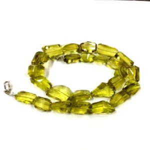 "Shop Topaz Chip & Nugget Beads! Superb Quality Natural Gemstone Lemon Topaz Nugget Beads 10-12 mm Nugget Shape Beads 16"" Strand 