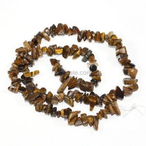 Shop Tiger Eye Chip & Nugget Beads! U Pick Top Quality Natural Golden Yellow Tiger's Eye Gemstone 5-8mm Smooth Free-form Chip Beads 33 Inch Per Strand For Jewelry Making Gz1-7 | Natural genuine chip Tiger Eye beads for beading and jewelry making.  #jewelry #beads #beadedjewelry #diyjewelry #jewelrymaking #beadstore #beading #affiliate #ad